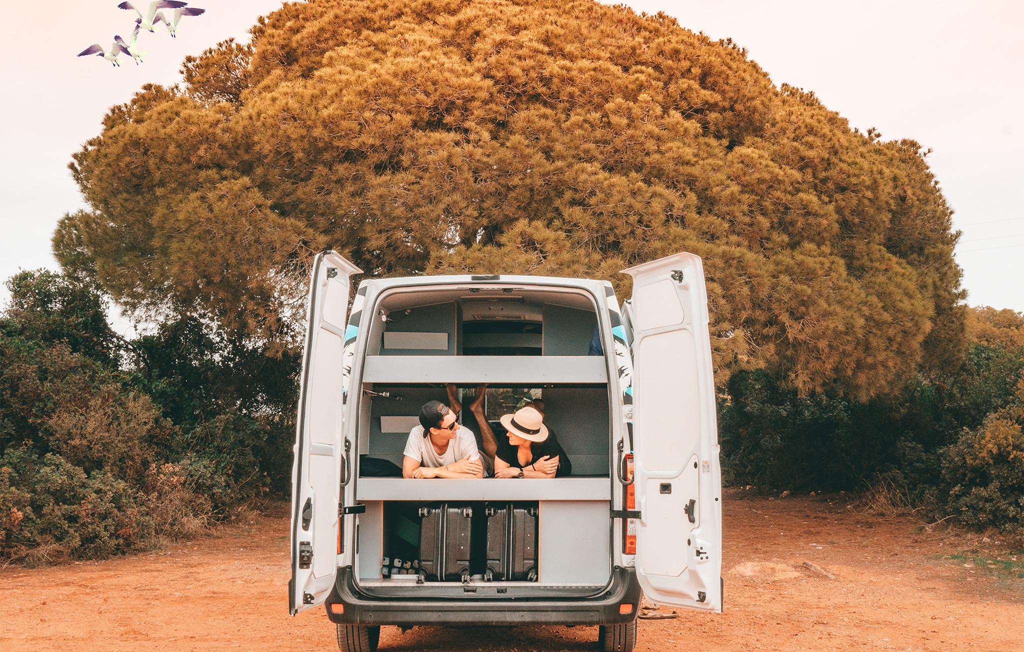 Portugal by Van - Open Back Doors