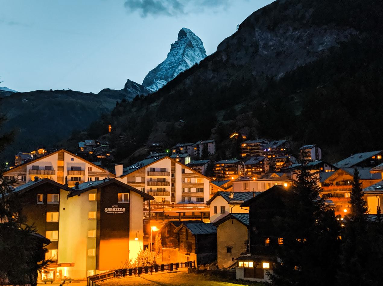Matterhorn Nighttime