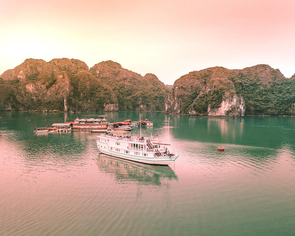 Halong Bay at Sunset 1