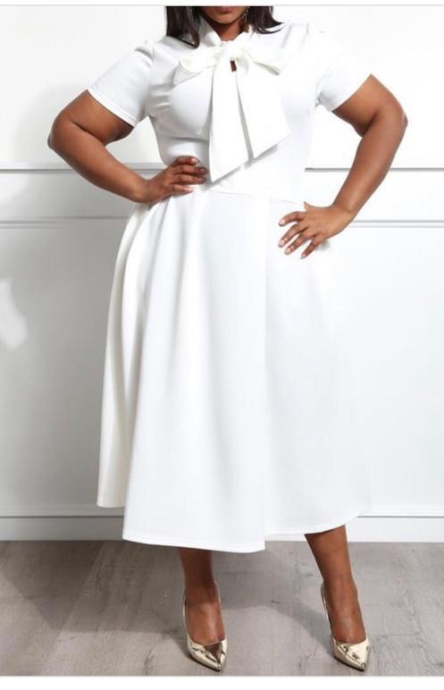 e7195fcd Saints white Dress