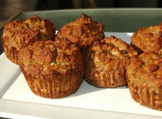 Déjeuner-collation; Muffins aux bananes paléo