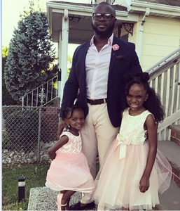 Jimmy Tessier and his daughters Gabby,6 & Renee, 10