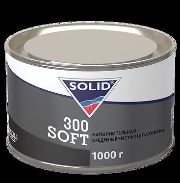 SOLID 300 SOFT Двухкомпонентная полиэфирная, универсальная шпатлевка