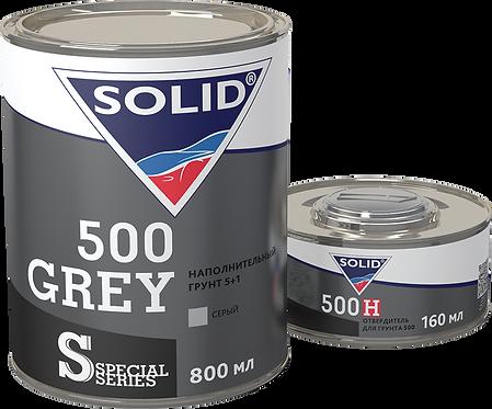 SOLID 500 GREY-BLACK Двухкомпонентный акриловый грунт