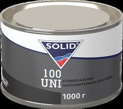 SOLID 100 UNI 2К полиэфирная шпатлевка