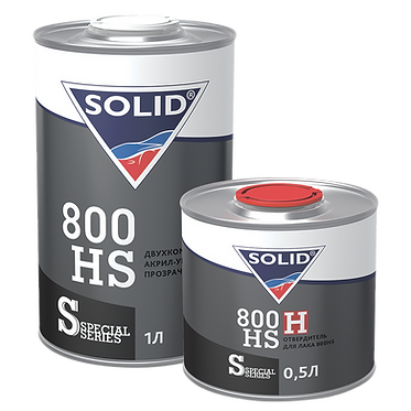 SOLID DIGITAL LINE 800 HS Двухкомпонентный акрил-уретановый прозрачный лак