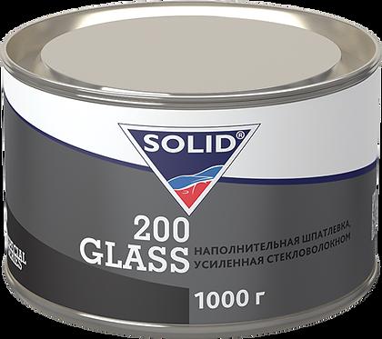 SOLID 200 GLASS 2К полиэфирная шпатлевка, усиленная стекловолокном