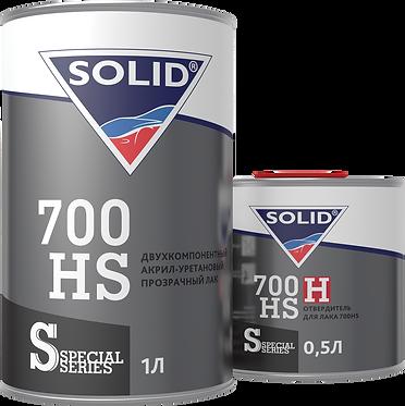 SOLID DIGITAL LINE 700 HS Двухкомпонентный акрил-уретановый прозрачный лак