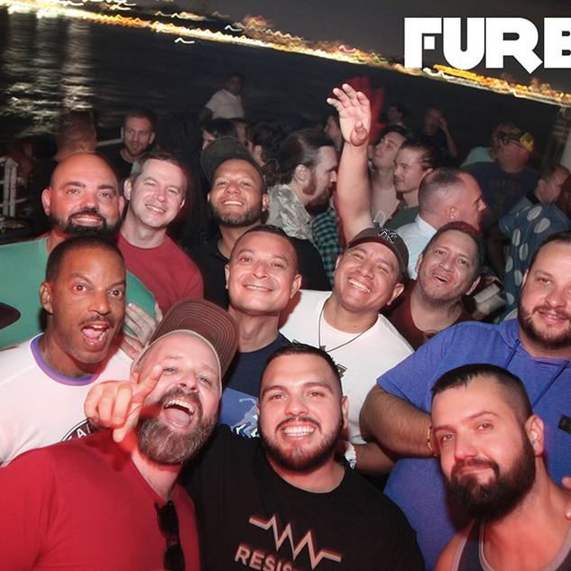 Furball Sunset Disco Cruise NYC