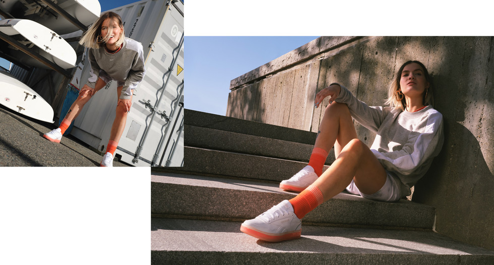 lifestyle photography for reebok