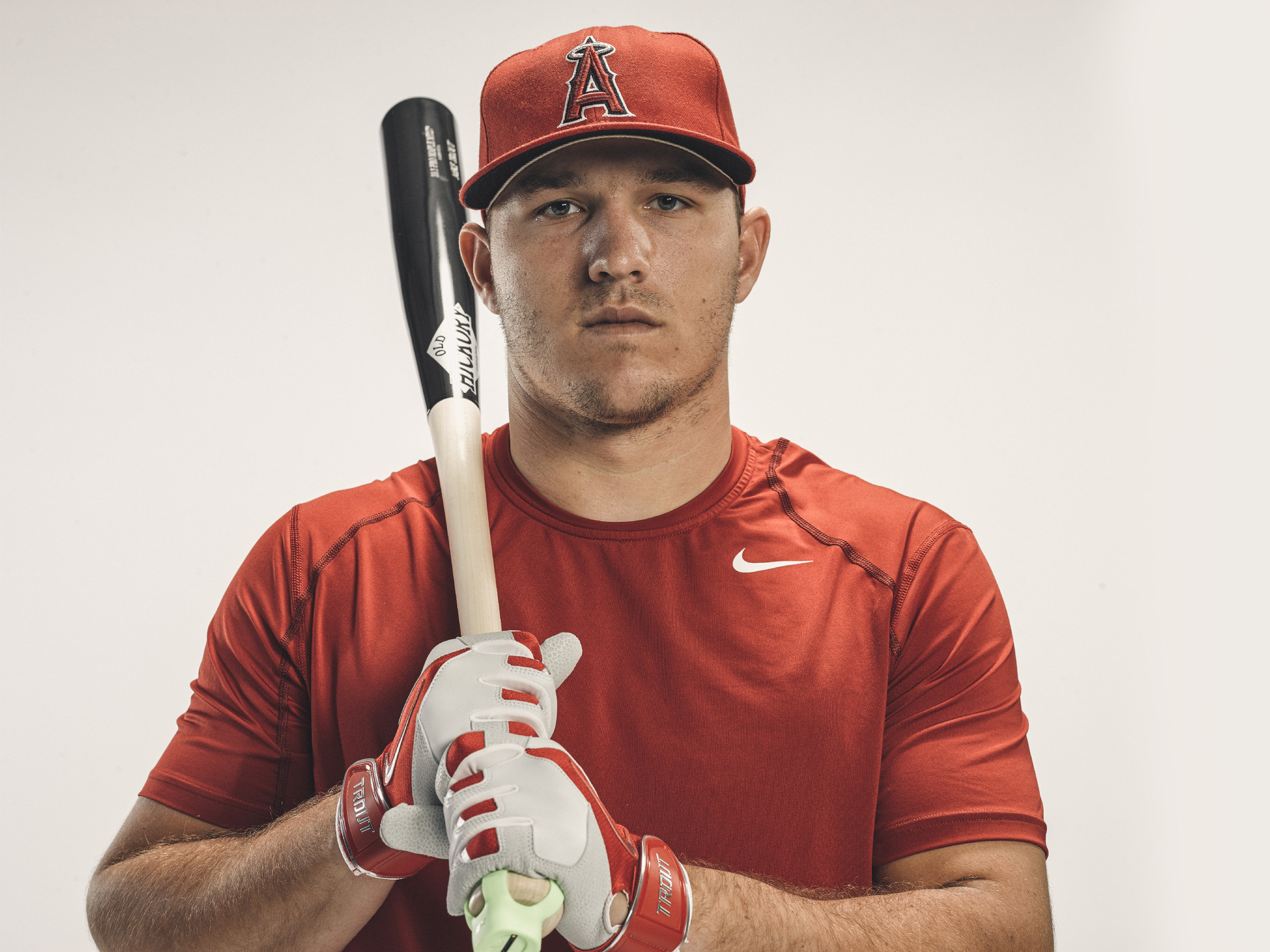 Mike Trout photography by JJ Miller
