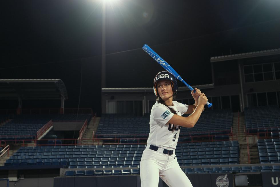 Janie Reed team USA softball