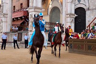 Pferderennen auch Palio genannt