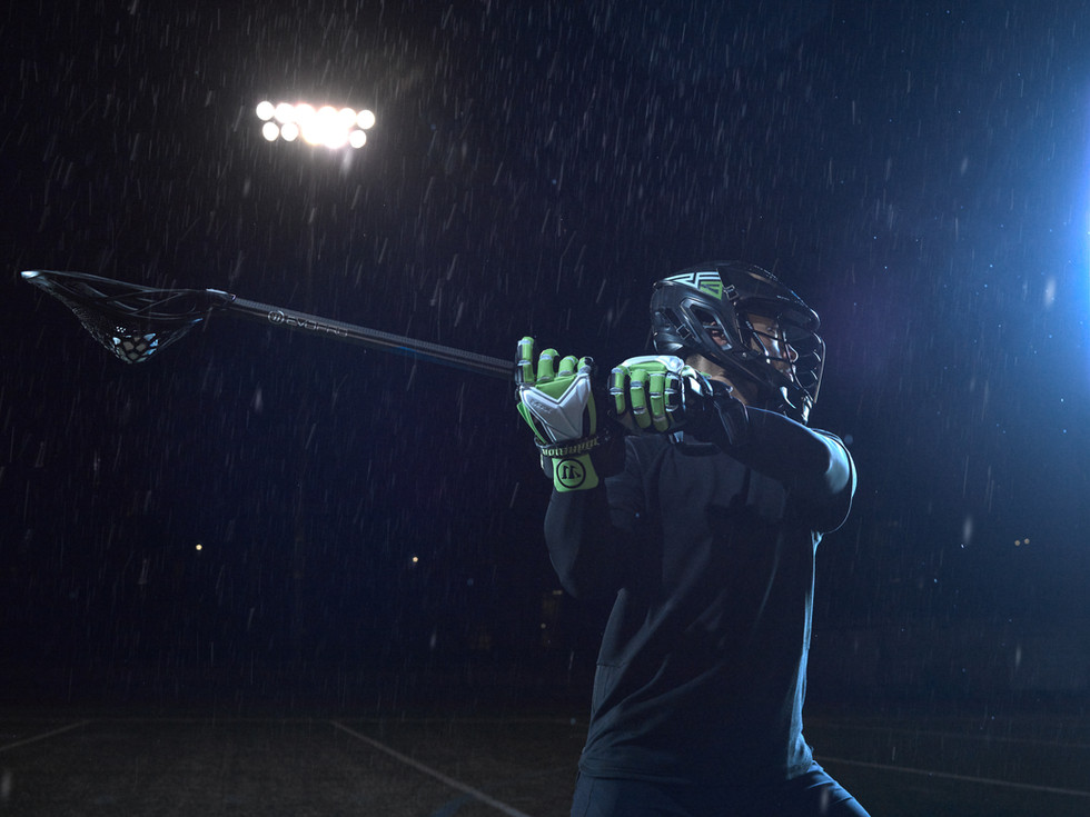 warrior lacrosse by sports photographer