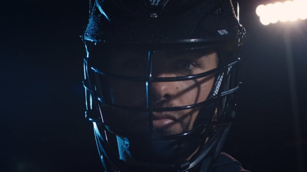 advertising campaign for warrior lacrosse by JJ Miller Productions
