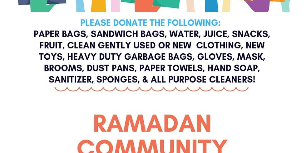 Ramadan Community Outreach