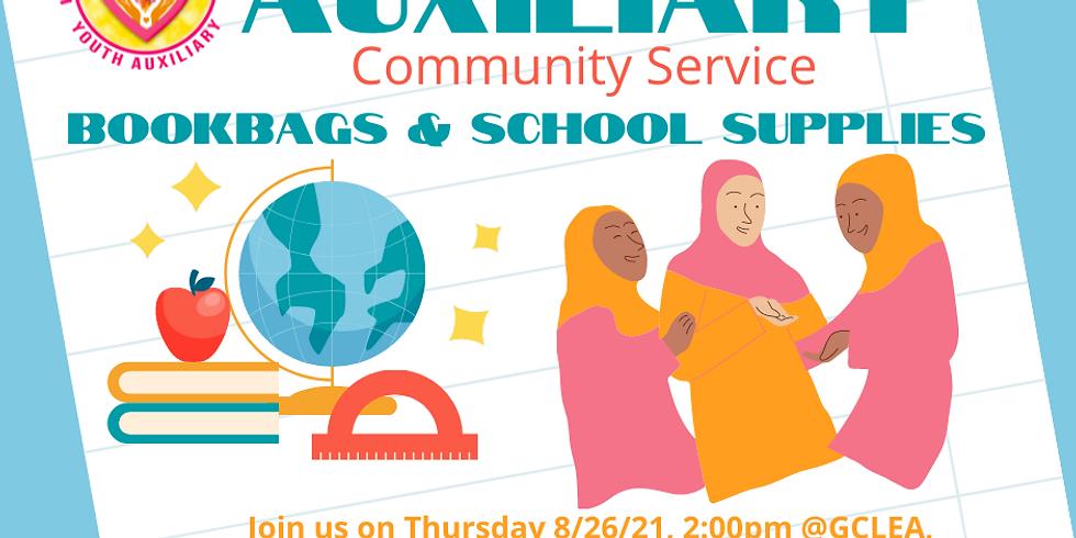 Bookbags & school supplies
