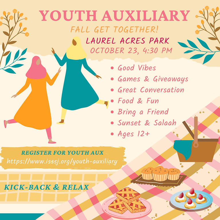 Youth Auxiliary Get Together!
