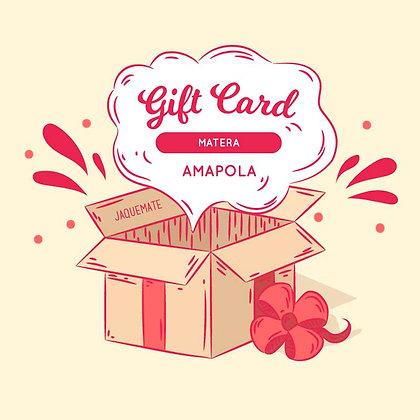 GIFT CARD Matera Amapola