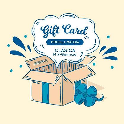 GIFT CARD Mochila-Matera Mix Gamuza