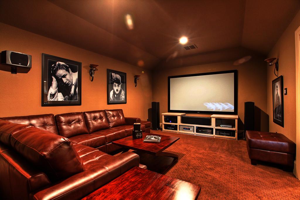 Media-Room-Media room installation