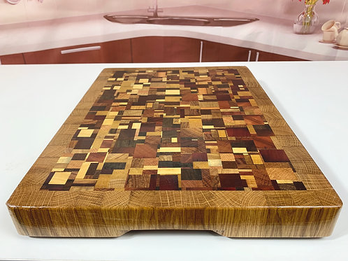 CET K304 - Bordered Chaotic Cutting Board