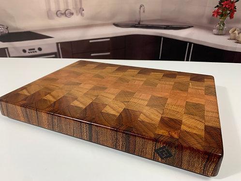 CET P003 - Silky Oak End Grain Cutting Board