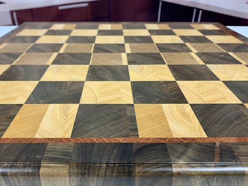 CET CB001 - End Grain Chess Board