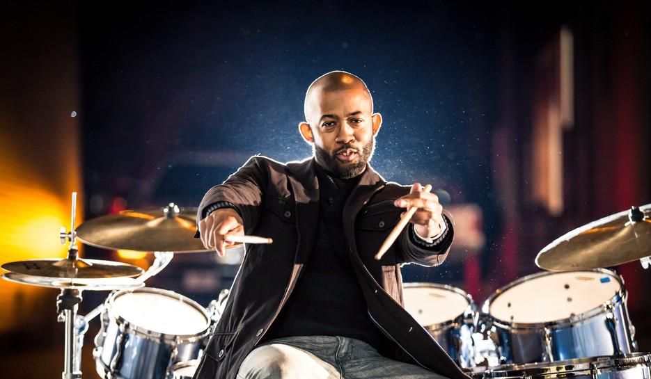 Jeremy Thomas toured internationally playing Drums.