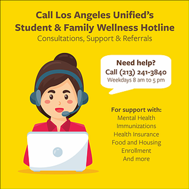 student and family wellness hotline - en
