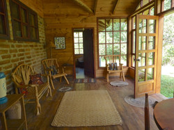 wood hse porch