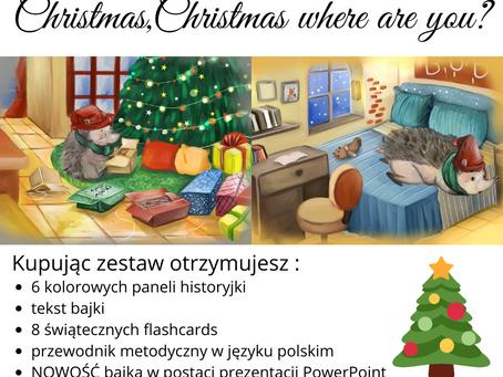 Elementy do przyklejania Christmas where are you?