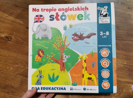 Gra edukacyjna Na tropie angielskich słówek