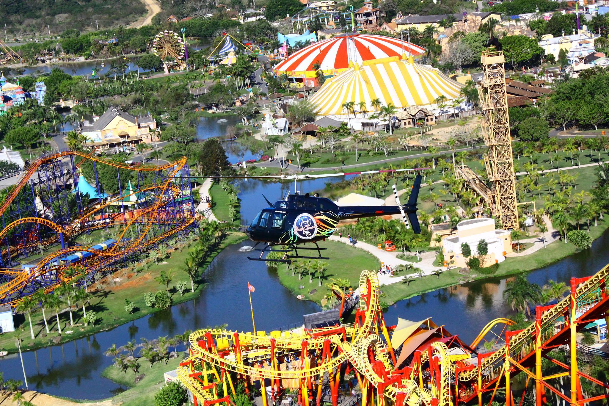 Vôo Helicóptero Beto Carrero World