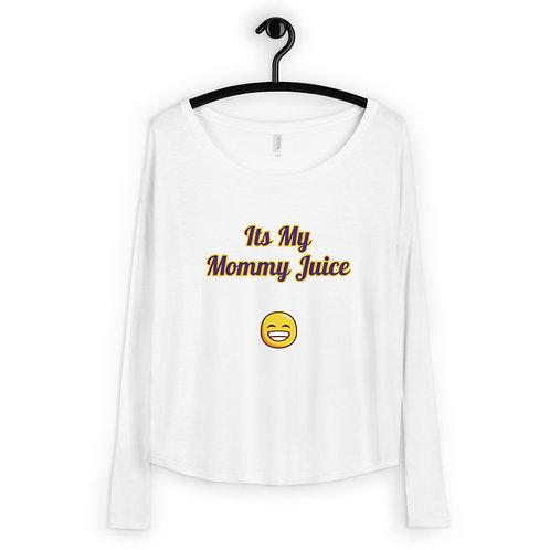 Mommy Juice Ladies' Long Sleeve Tee