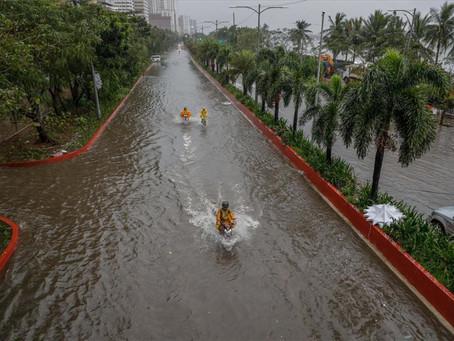 Filipinas sufre grandes estragos causados por la reciente llegada del tifón Vamco