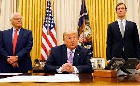Presidente Trump destacó que «otro país árabe podría hacer la paz con Israel muy pronto»