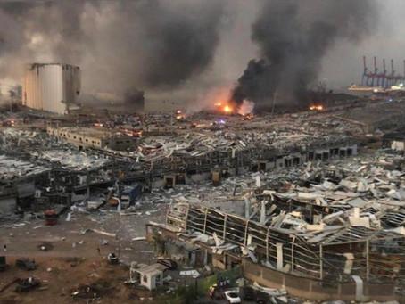 Más de cien muertos y 4.000 heridos por una explosión en Beirut