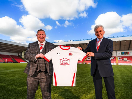 Clyde FC Sponsorship deal with Homesbook Factoring