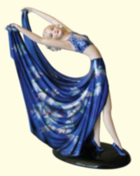רקדנית בכחול, וולטר גולדשיידר