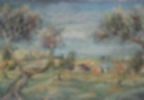 משה מטוסובסקי, בוגר בצלאל, על גדת הכינרת