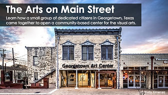 Georgetown Art Center Featured by the National Trust for Historic Preservation
