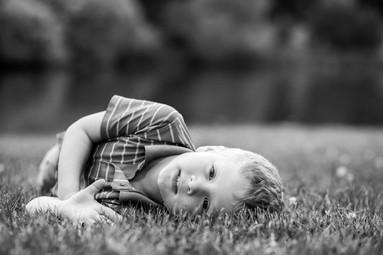 fun child portrait