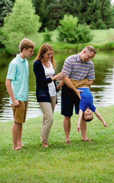 Fun Family Photo