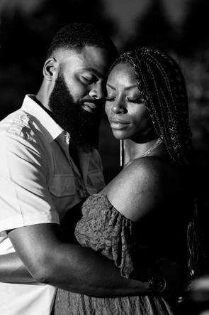 Egaged couple