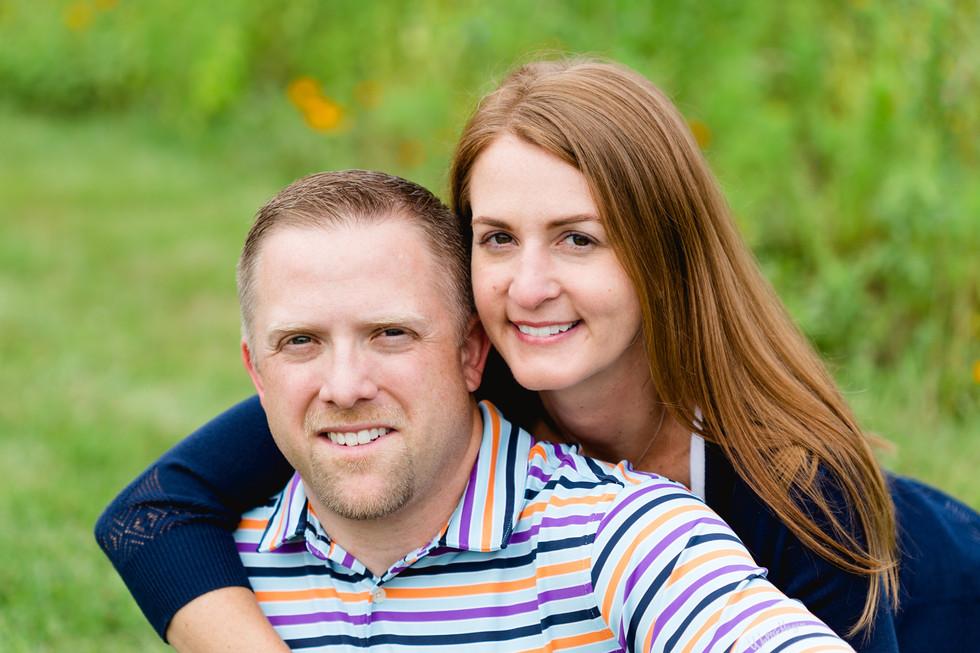 Couple photo outdoors