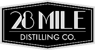 28 Mile Distilling Logo BW