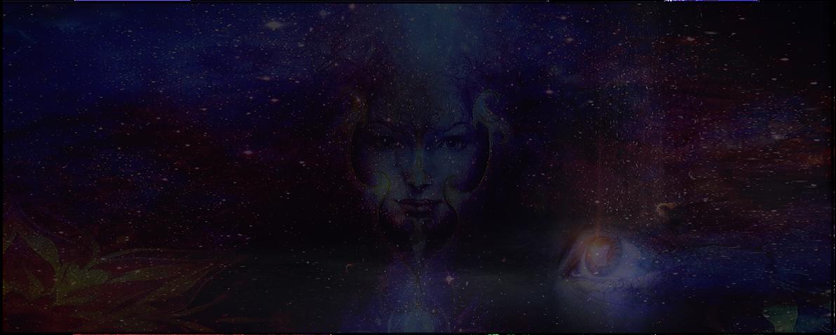 Cosmic Goddess and Eye Combined -- longe