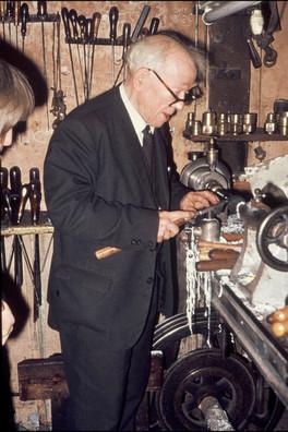 Andrew Ross in spring 1976 turning.jpg