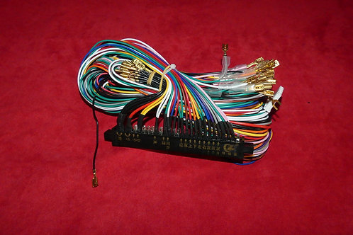 Connecteur JAMMA 2x28 pins, 6 boutons
